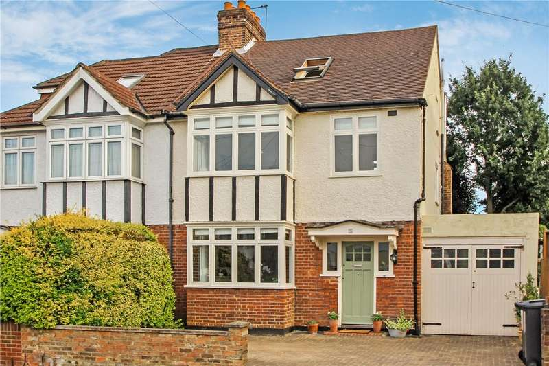 4 Bedrooms Semi Detached House for sale in Burney Avenue, Surbiton