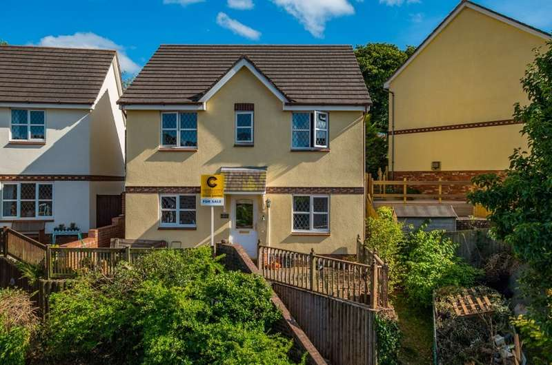 4 Bedrooms Detached House for sale in Grampian Close, Paignton