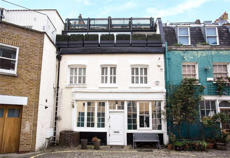 3 Bedrooms Mews House for sale in Upbrook Mews, Bayswater, London, W2