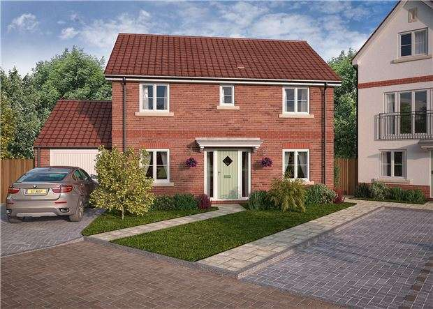 4 Bedrooms Detached House for sale in Charlotte Mews, Cadbury Heath, Heath Rise, BRISTOL, BS30 8DD