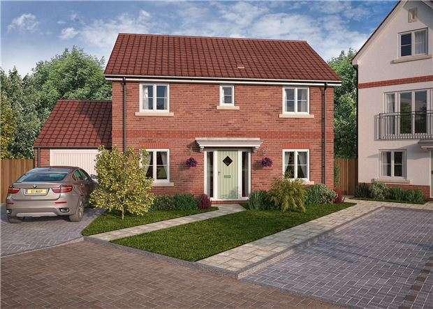 4 Bedrooms Detached House for sale in Charlotte Mews, Cadbury Heath, Heath Rise, BRISTOL, BS30 8DD