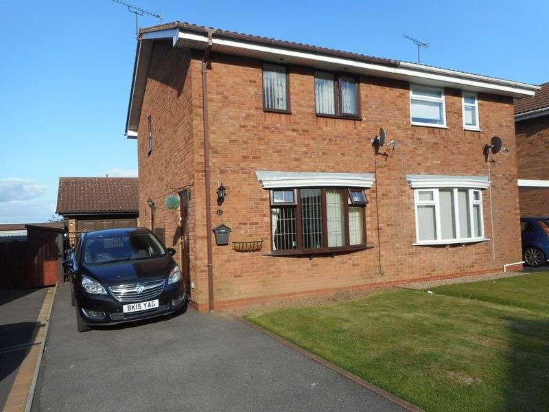 2 Bedrooms Semi Detached House for sale in Marlowe Close, Nuneaton