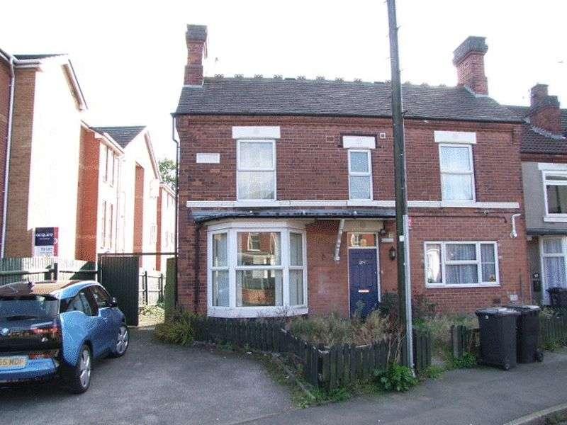 4 Bedrooms Semi Detached House for sale in Wyggeston Street, Burton