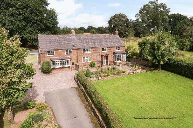 4 Bedrooms Detached House for sale in Quarry Bank, Utkinton, Near Tarporley