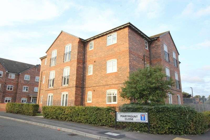 2 Bedrooms Flat for sale in Marymount Close, Wallasey