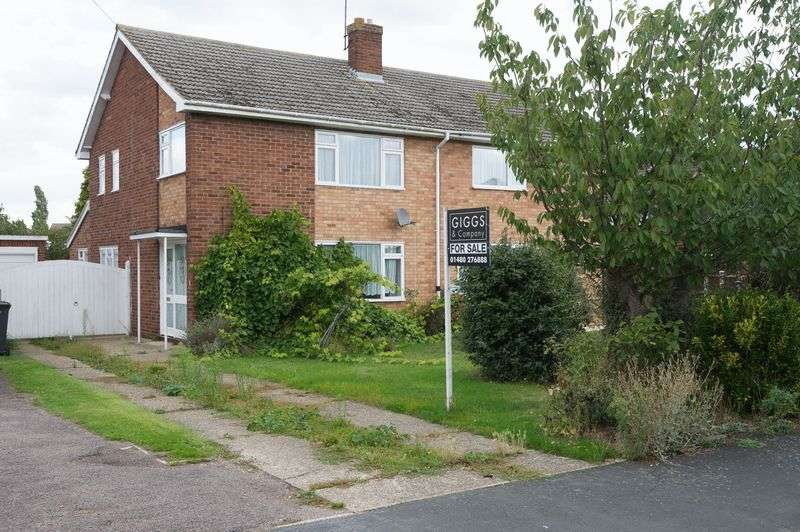 3 Bedrooms Semi Detached House for sale in Little Paxton, St. Neots