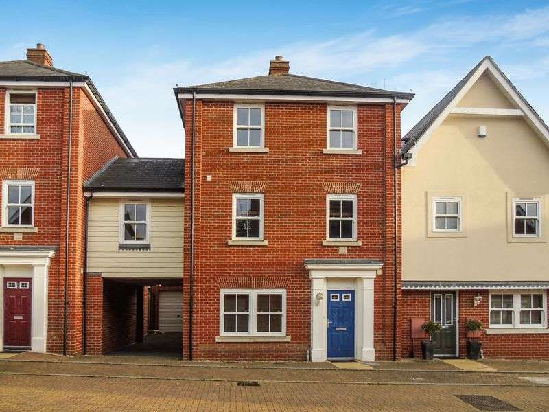 4 Bedrooms Semi Detached House for sale in Harold Collins Place, Colchester