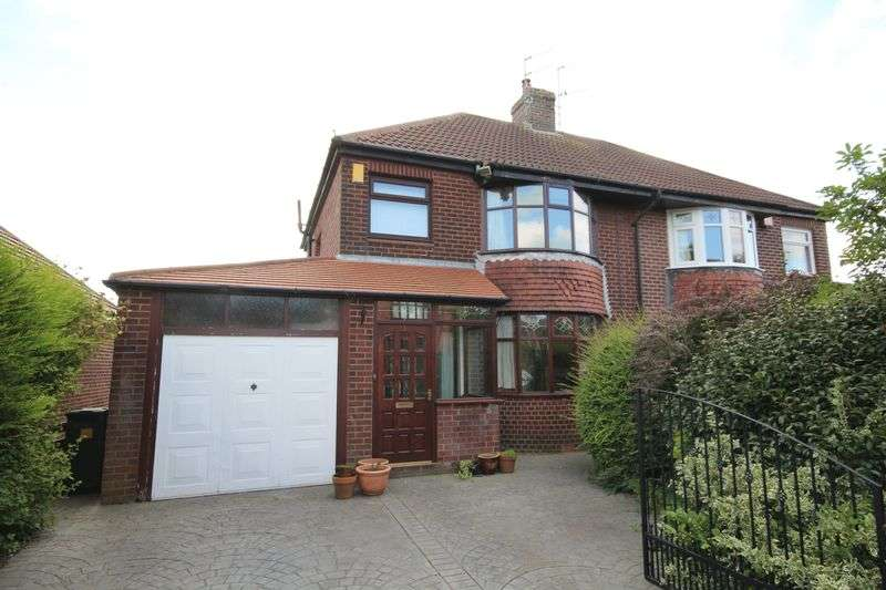 3 Bedrooms Semi Detached House for sale in KENDAL AVENUE, Norden, Rochdale OL12 7RZ