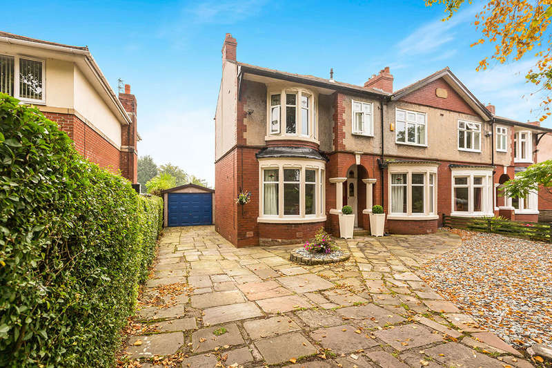 3 Bedrooms Semi Detached House for sale in Somerset Avenue, Wilpshire, Blackburn, BB1