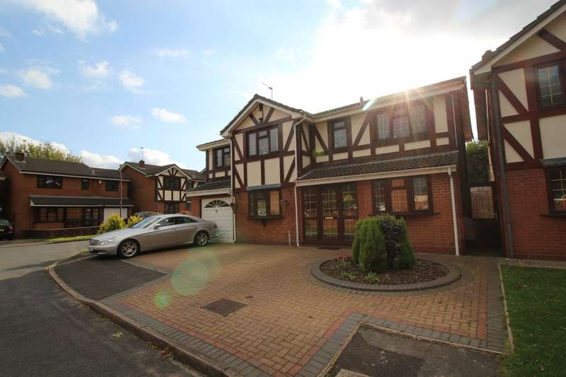 5 Bedrooms Detached House for sale in Roach Pool Croft, Birmingham, B16