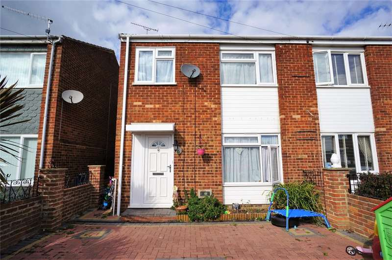3 Bedrooms Semi Detached House for sale in Fry Close, Isle of Grain, Rochester, Kent, ME3