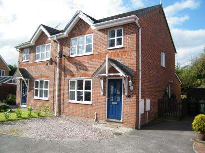 3 Bedrooms Semi Detached House for sale in Rosewood Drive, Winsford, Cheshire, England, CW7