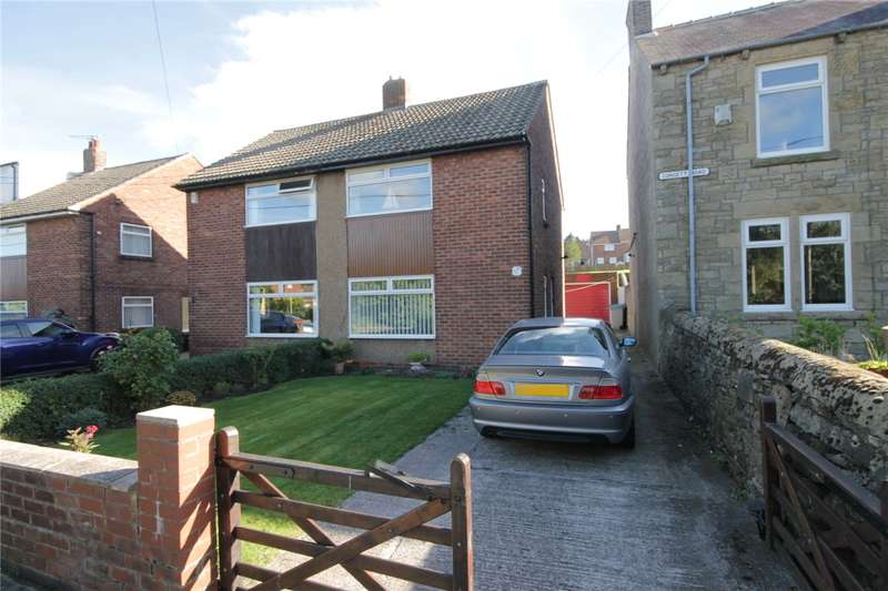 2 Bedrooms Semi Detached House for sale in Consett Road, Castleside, Consett, DH8