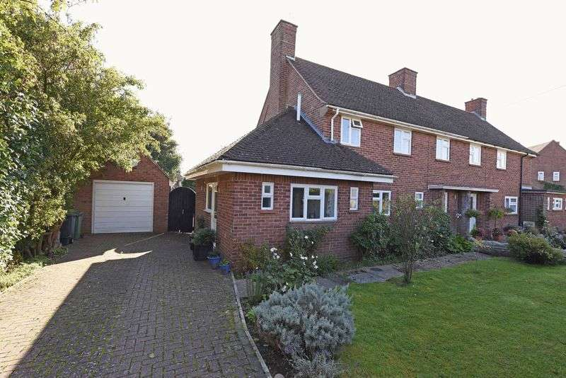 3 Bedrooms Semi Detached House for sale in Spring Close, Sherborne St John