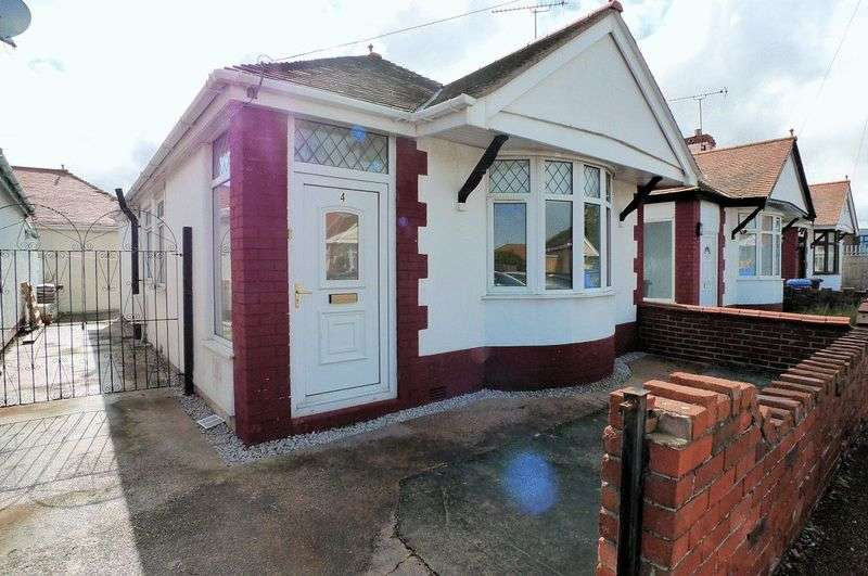 2 Bedrooms Detached Bungalow for sale in County Drive, Rhyl