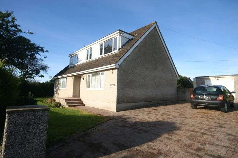 4 Bedrooms Detached Bungalow for sale in Dwyran, Anglesey