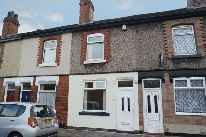 2 Bedrooms Terraced House for sale in Yeaman Street, Stoke-On-Trent, ST4 4AP