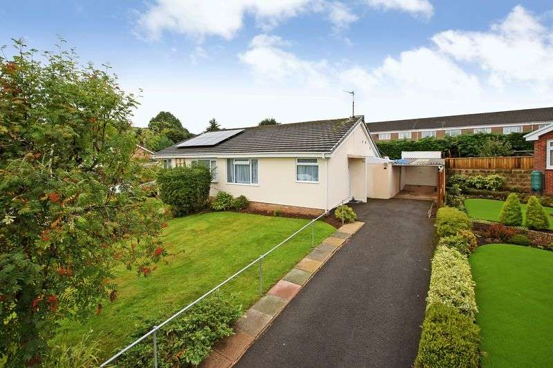 2 Bedrooms Semi Detached Bungalow for sale in Tidcombe Park Area