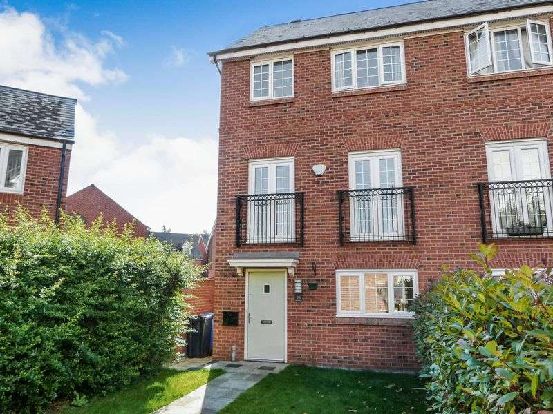 4 Bedrooms Semi Detached House for sale in Monks Place, Warrington, WA2 7DX