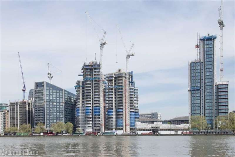 3 Bedrooms Property for sale in The Corniche, Albert Embankment, London, SE1