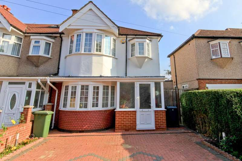 3 Bedrooms End Of Terrace House for sale in Exeter Road, Harrow