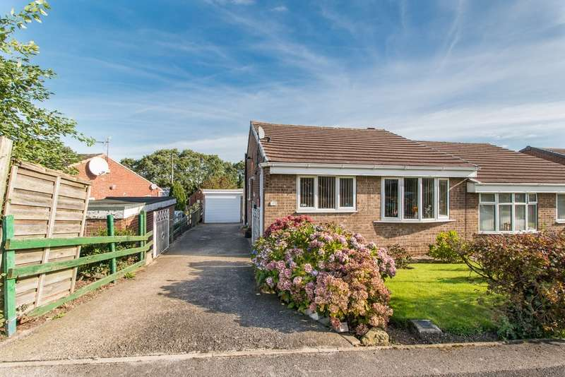 2 Bedrooms Semi Detached Bungalow for sale in Haydon Grove, Flanderwell