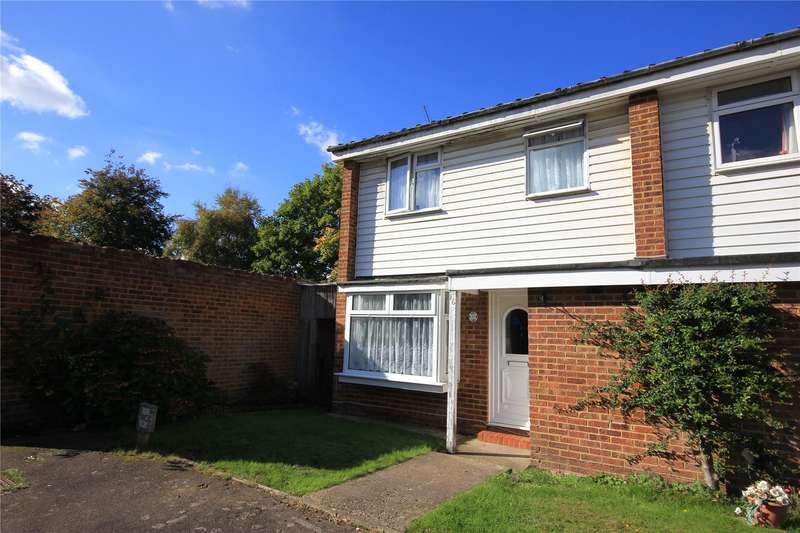 3 Bedrooms End Of Terrace House for sale in Wendron Close, Woking, Surrey, GU21