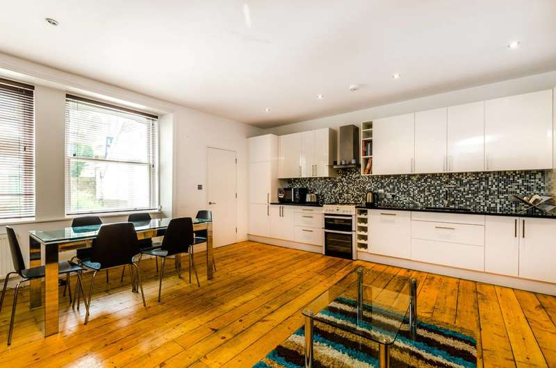 2 Bedrooms Flat for sale in North Villas, Camden, NW1
