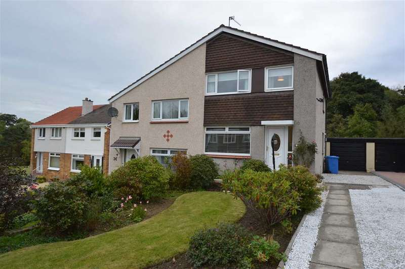 3 Bedrooms Semi Detached House for sale in Lochalsh Place, Blantyre