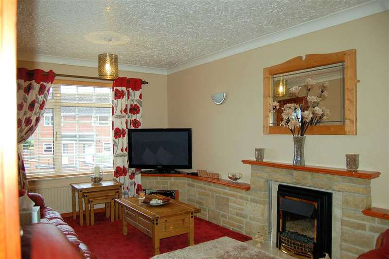 3 Bedrooms Bungalow for sale in Truro Close, Grantham