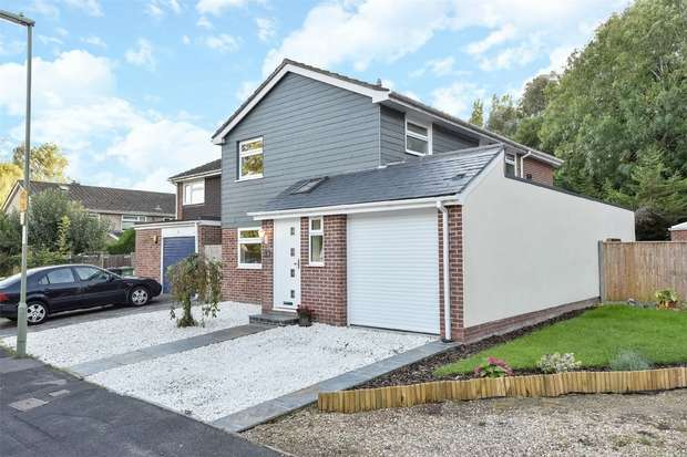4 Bedrooms Detached House for sale in Boyatt Wood, Eastleigh, Hampshire