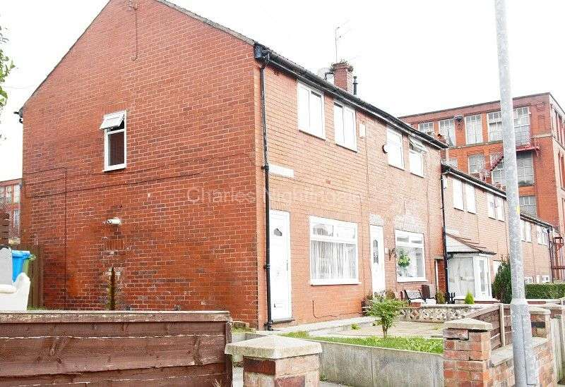 2 Bedrooms End Of Terrace House for sale in Cardwell Street, Oldham, Greater Manchester. OL8 2AF