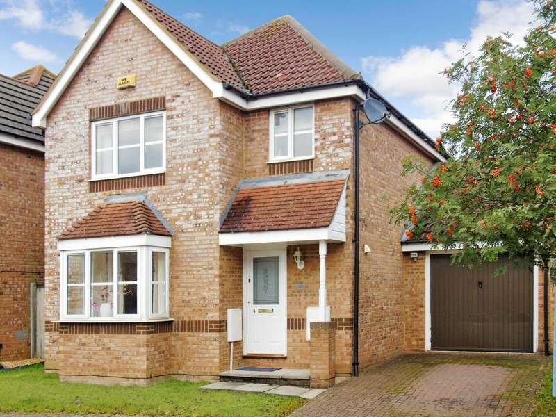 3 Bedrooms Detached House for sale in Highveer Croft, Tattenhoe