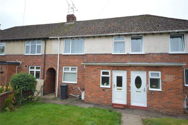 3 Bedrooms Terraced House for sale in Manstone Avenue, Sidmouth, Devon