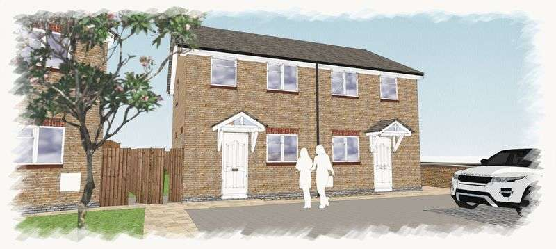 2 Bedrooms Semi Detached House for sale in Wern Lane, Wrexham