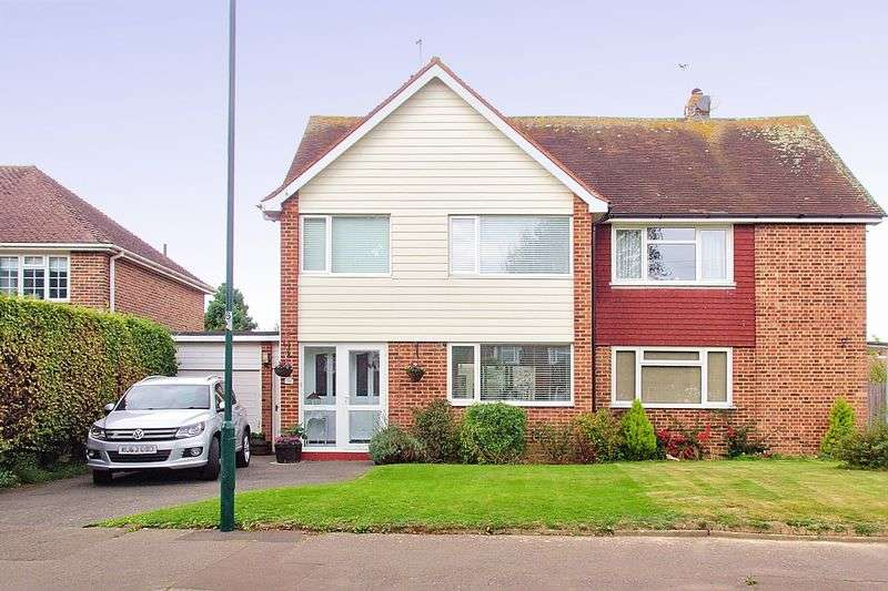 3 Bedrooms Semi Detached House for sale in Willowhale Avenue, Aldwick, PO21
