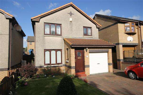 3 Bedrooms Detached House for sale in Dunottar Avenue, Coatbridge