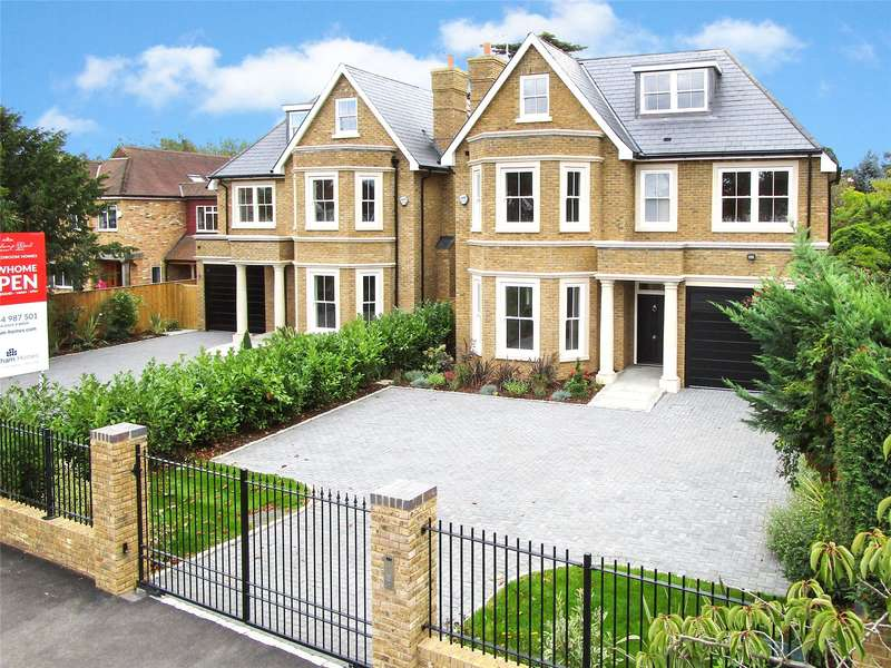 6 Bedrooms Detached House for sale in Beauchamp Road, East Molesey, Surrey, KT8