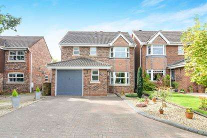 3 Bedrooms Detached House for sale in Lister Avenue, Worcester, Worcestershire, Uk