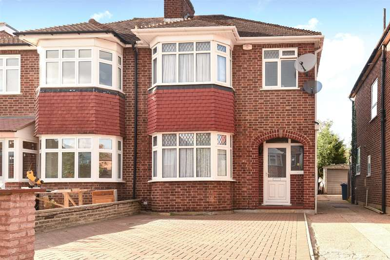 3 Bedrooms Semi Detached House for sale in Torrington Drive, Harrow, Middlesex, HA2