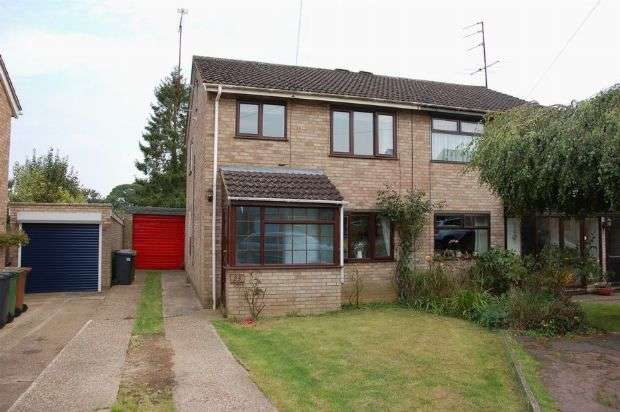 3 Bedrooms Semi Detached House for sale in Westlea Road, Sywell, Northampton NN6 0BY