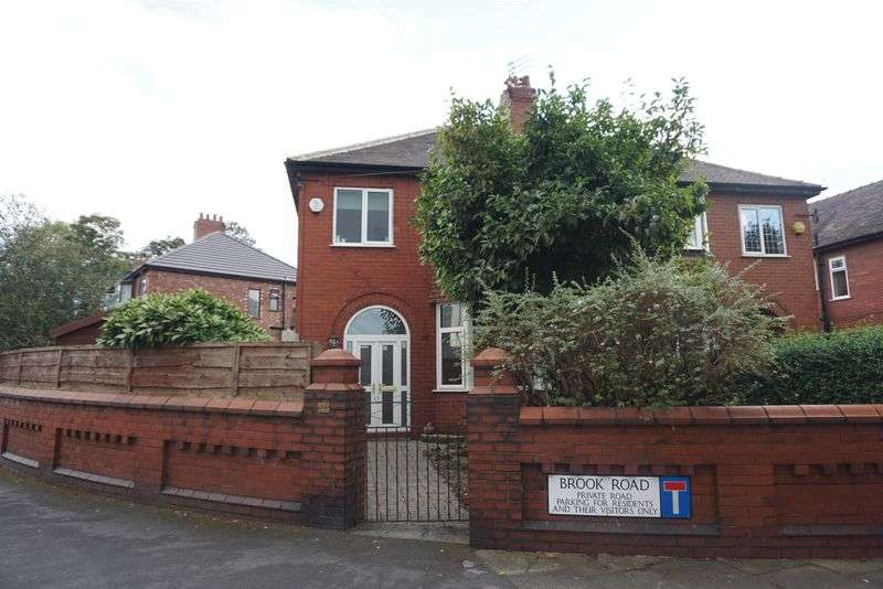 3 Bedrooms Semi Detached House for sale in Brook Road, Heaton Chapel