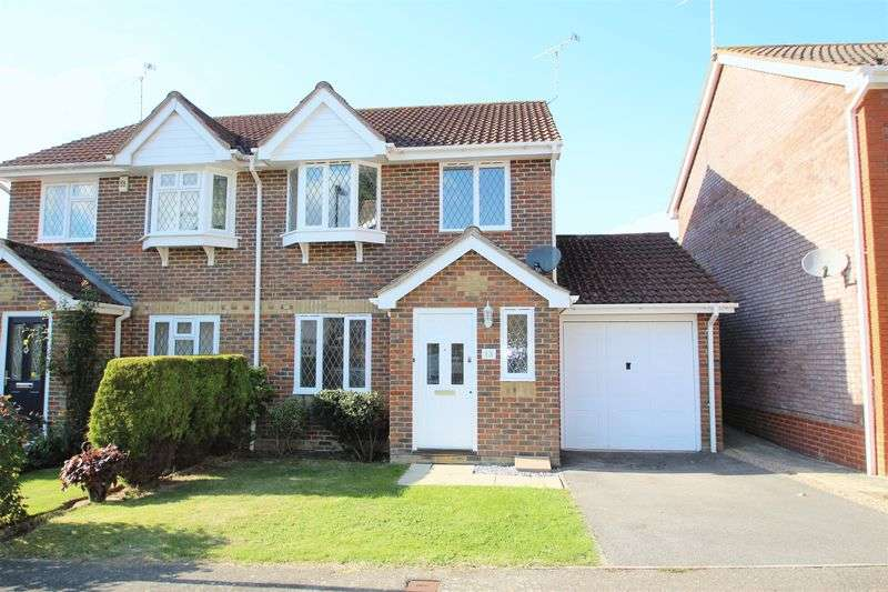 3 Bedrooms Semi Detached House for sale in Golding Close, Maidenbower