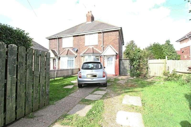 2 Bedrooms Semi Detached House for sale in Endike Lane, Hull