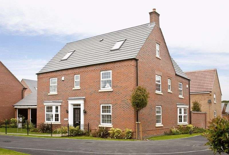 5 Bedrooms Detached House for sale in A collection of 4 and 5 bedroom homes at Whittington, Park, Longford Lane, Gloucester