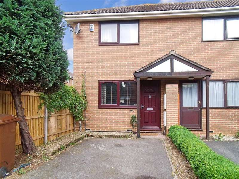 2 Bedrooms End Of Terrace House for sale in Hewitt Close, Gillingham, Kent