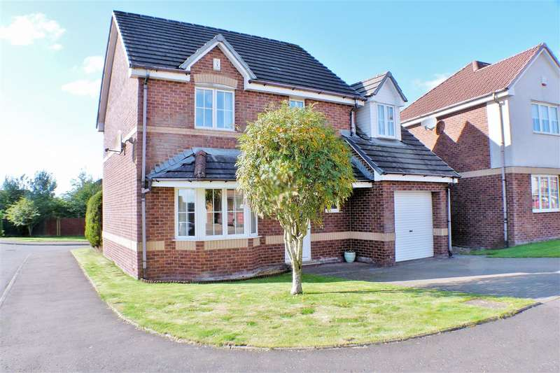 4 Bedrooms Detached House for sale in Strathmore Grove, Hairmyres, EAST KILBRIDE