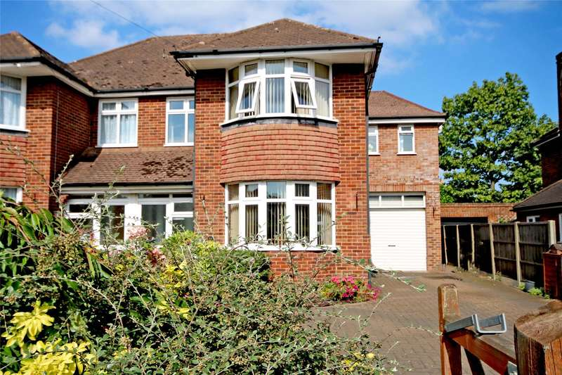 4 Bedrooms Semi Detached House for sale in Simplemarsh Road, Addlestone, Surrey, KT15