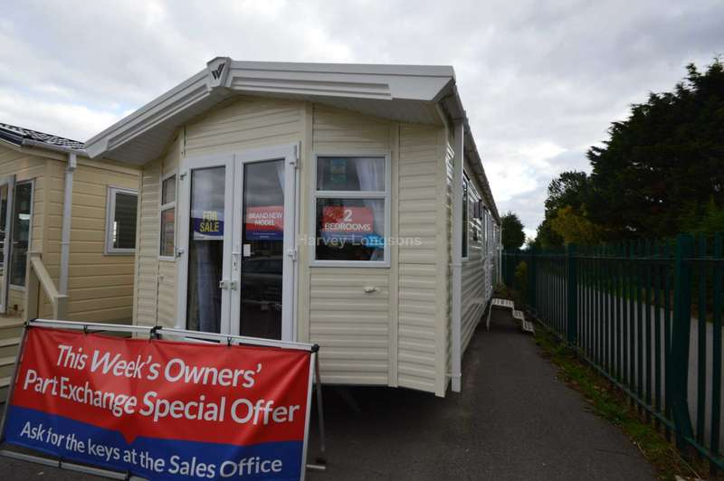 2 Bedrooms Caravan Mobile Home for sale in Seaview Holiday Park, St Johns Road, Whitstable