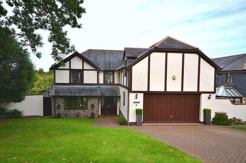 5 Bedrooms Detached House for sale in Deer Leap, Tavistock